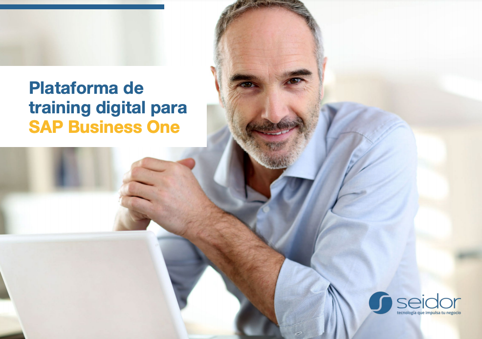 Folleto de Training Digital de SAP B1